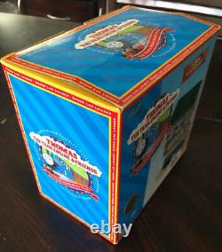 Rare 1996 thomas and friends SODOR LOG LOADER New In Box Wooden Railway Clickety
