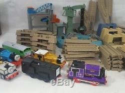 Rare HUGE Lot Thomas the Train & Friends Motorized Trackmaster Cars Tracks Bulk