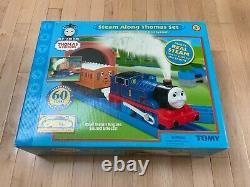 Rare Nib Thomas The Tank Engine Vintage 2005 Steam Along Thomas Set Brand New