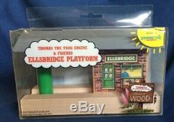 Rare Thomas The Tank Engine & Friends 1992 Wooden Ellsbridge Platform