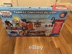 Rare Thomas the Train Thomas Christmas Delivery Trackmaster Complete Set 2011
