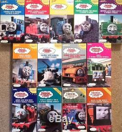 Rare Vintage Thomas The Train Tank Engine Friends 13 VHS Video Collector Lot Set