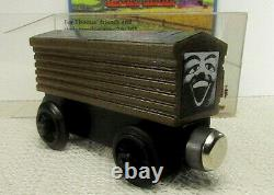 SAFELY STORED 25yrs 1992-93 v2 Thomas Wooden Railway TROUBLESOME BRAKEVAN $510