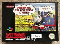 SNES Thomas The Tank Engine + Poster
