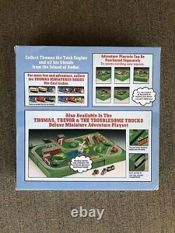 Shining Time Station Thomas Annie Clarabel 4 Corner Miniature Adventure Set NOS