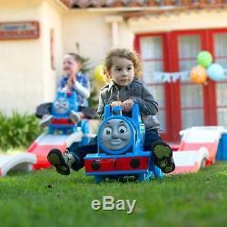 Step2 Thomas The Tank Engine Up & Down Kids RideOn Play Train Coaster Car Toys