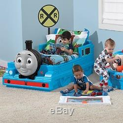 Step2 Toddler Bed Thomas The Tank Engine Kids Train Playtime 3D Face Storage Toy