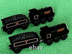 THOMAS & FRIENDS WOODEN DONALD & DOUGLAS WITH TENDERS for BRIO ENGINE SETS