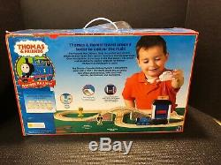 THOMAS & FRIENDS Wooden Railway HAROLD'S MAIL DELIVERY SET 2004 LC99559 New