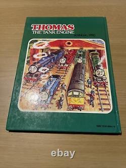 THOMAS THE TANK ENGINE ANNUAL 1980 by Awdry, Rev. W. Book signed by Rev. W awdry