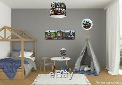 THOMAS THE TANK ENGINE Bedroom in a Box Lightshade, Lamp, Clock, Canvases