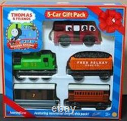 THOMAS THE TANK & FRIENDS SODOR 5 CAR GIFT PACK 2000 WithCOLLECTOR CARDS NIB