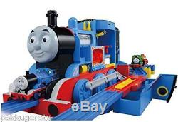 TOMY Plarail Playing the Steam Engine BIG Thomas the Tank