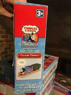 TRACKMASTER THOMAS & FRIENDS FLIP FACE TALKING THOMAS Very rare