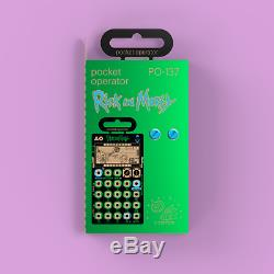 Teenage Engineering Rick and Morty Pocket Operator PO-137