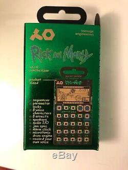 Teenage Engineering Rick and Morty Pocket Operator PO-137