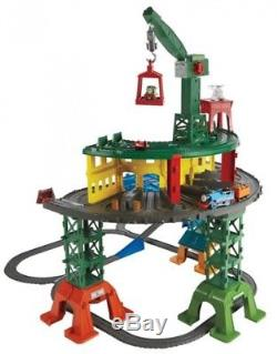 Thomas And Friends Super Station Giant Playset Trackmaster Engine 35ft/10m Track