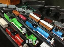 Thomas & Friends Bachmann HO Scale 7x Engine 17 Freight / Cars Lots of EZ Track