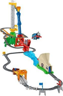 Thomas & Friends DFM54 Sky High Bridge Jump Set, Thomas the Tank Engine Toy T