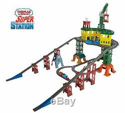 Thomas Friends FGR22 Super Station, Thomas the Tank Engine Toy Train Set and R
