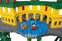 Thomas Friends FGR22 Super Station, Thomas the Tank Engine Toy Train Set and R