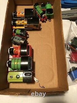 Thomas & Friends Lot TrackMaster TOMY Train Tracks Plastic Over 225 Pieces
