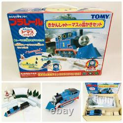 Thomas & Friends Snow Pusher Tunnel Windmill Tomy Plarail Discontinued Motor OK