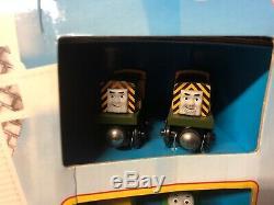 Thomas & Friends Storm on Sodor Set Wooden Railway Action Sounds Lights VHTF NIB