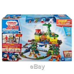 Thomas & Friends Super Station Set Holds over 100 Engines