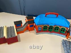 Thomas & Friends Take Along Ultimate Playset with Bonus Tracks And Trains Huge Lot
