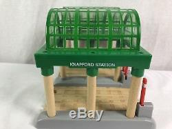 Thomas & Friends The Engine KNAPFORD Train STATION Lights Wooden Railway Tank