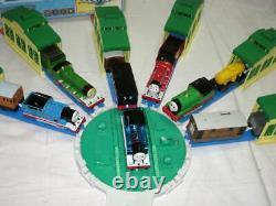 Thomas & Friends Tomy Metallic Percy Toby Plarail Turntable Shed ToysRUs Japan
