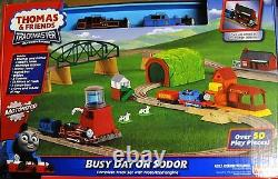 Thomas & Friends Trackmaster Motorized Busy Day On Sodor New Sealed