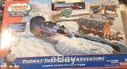 Thomas & Friends Trackmaster Motorized Train Set THOMAS' SNOW STORM ADVENTURE