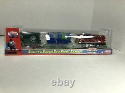 Thomas & Friends Trackmaster Salty's Sodor Zoo Night Exhibit Motorized Engine