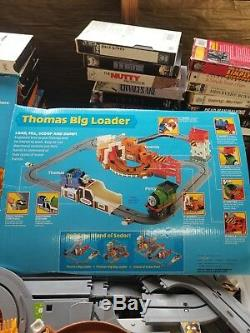 Thomas & Friends Train Big Loader Set By Tomy, Battery Operated Locomotives and