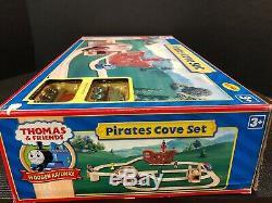 Thomas & Friends Train Wooden Railway Pirates Cove Set New In Box! Super Rare