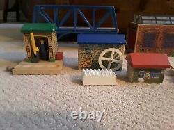 Thomas & Friends Wooden Railroad Train Tracks Set & Accessories Rare/Retired