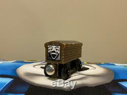 Thomas & Friends Wooden Railway 1994 WHITE FACE TROUBLESOME BRAKEVAN Very Rare