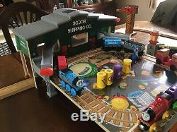 Thomas & Friends Wooden Railway Brendam Bay Shipping Co. DELUXE Set WITH EXTRAS
