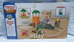 Thomas & Friends Wooden Railway CGL51 Sam And The Great Bell Set NEW