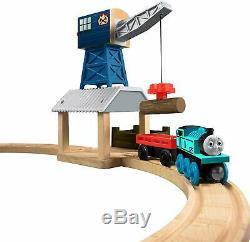 Thomas & Friends Wooden Railway Deluxe Tidmouth Timber Co. Set 100% MINT NIB