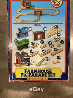 Thomas & Friends Wooden Railway Farmhouse Pig Parade NEW