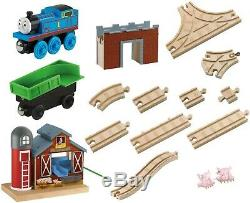 Thomas & Friends Wooden Railway Farmhouse Pig Parade Set FREE SHIPPING