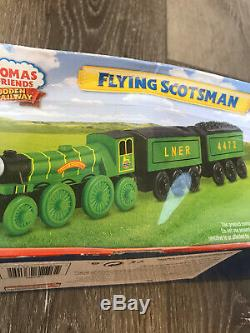 Thomas Friends Wooden Railway Flying Scotsman Extremely Rare Train New 4472