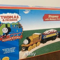 Thomas & Friends Wooden Railway Lot Of 3 /Stepney, Rheneas, Rusty/ New