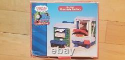 Thomas & Friends Wooden Railway Mr. Jolly's Chocolate Factory Rare 2003 HTF