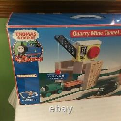 Thomas & Friends Wooden Railway Quarry Mine Tunnel Set New Sealed Retired