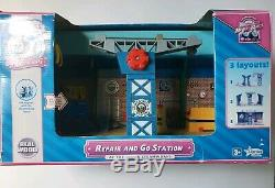 Thomas & Friends Wooden Railway REPAIR AND GO STATION SODOR STEAMWORKS 2009 RARE