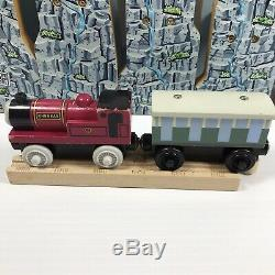 Thomas & Friends Wooden Railway Rheneas & The Roller Coaster Set Complete